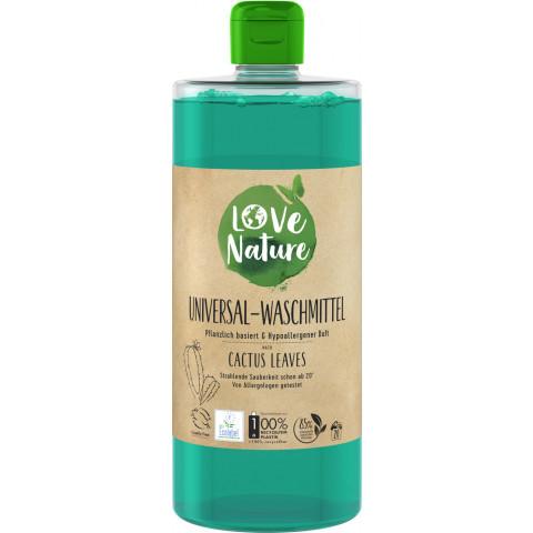 Love Nature Cactus Leaves Universal-Waschmittel 960ML 20WL
