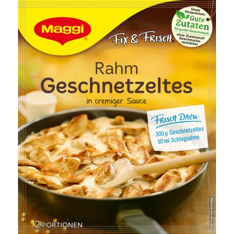 Maggi Fix & Frisch Fix für Rahm Geschnetzeltes