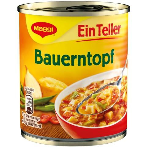 Maggi Ein Teller Bauerntopf 325 g