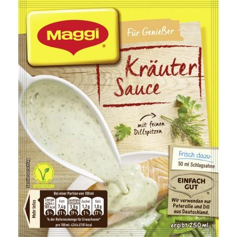 Maggi Für Genießer Kräuter Sauce ergibt 250 ml