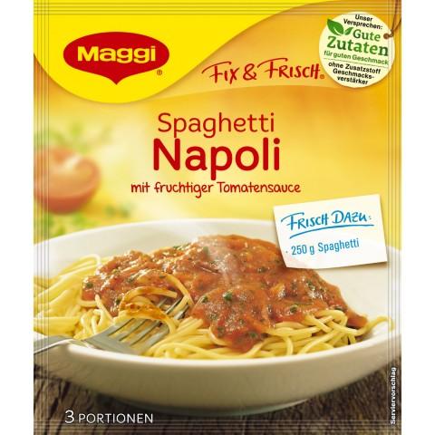 Maggi Fix & Frisch Fix für Spaghetti Napoli