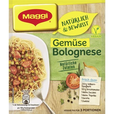 Maggi  Natürlich & BewusstFix für Gemüse Bolognese