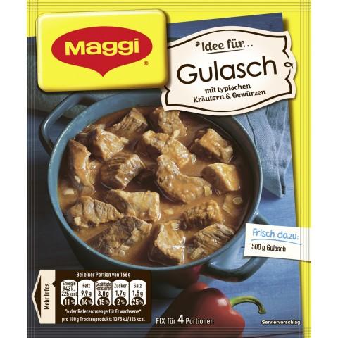 Maggi Idee für Gulasch 44 g