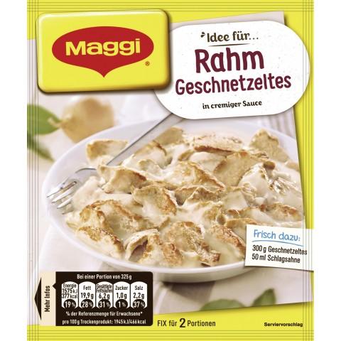Maggi Idee für Rahm Geschnetzeltes