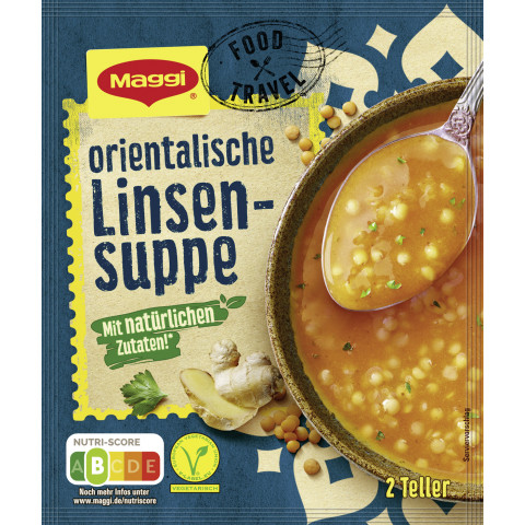 Maggi Food Travel Orientalische Linsensuppe ergibt 500ML