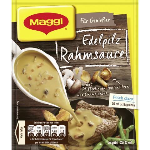 Maggi Für Genießer Edelpilz Rahmsauce