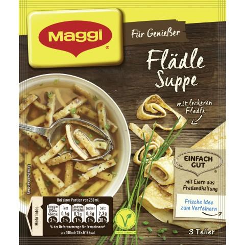 Maggi Für Genießer Flädle Suppe ergibt 750 ml