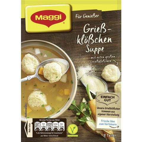 Maggi Für Genießer Grießklößchen Suppe 62 g