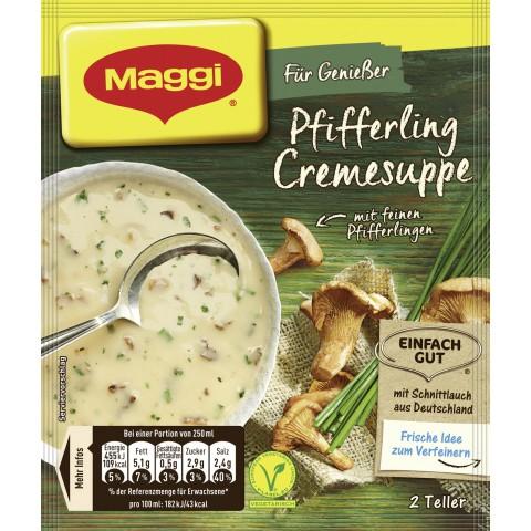Maggi Für Genießer Pfifferling Cremesuppe