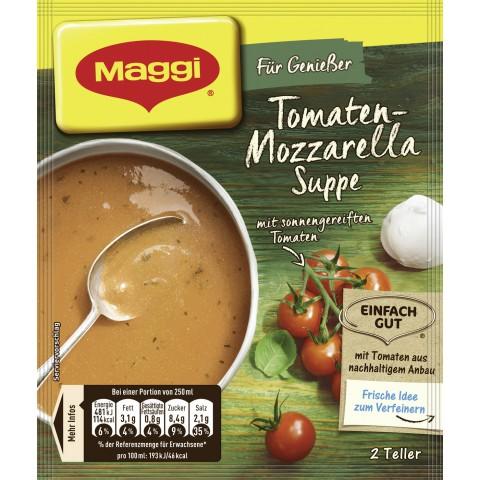 Maggi Für Genießer Tomaten-Mozzarella Suppe