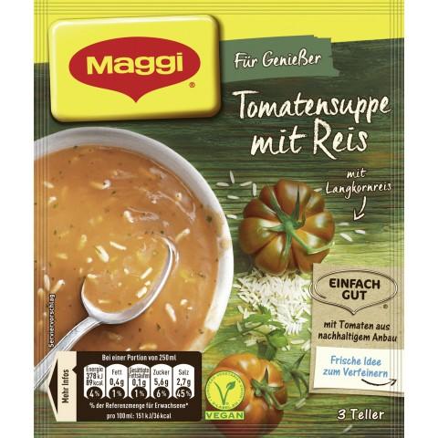 Maggi Für Genießer Tomatensuppe mit Reis ergibt 750 ml