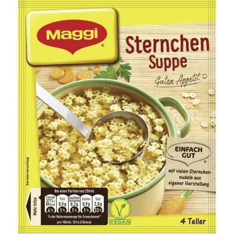 Maggi Guten Appetit! Sternchen Suppe für 4 Teller