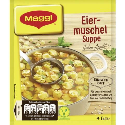 Maggi Guten Appetit! Eiermuschel-Suppe