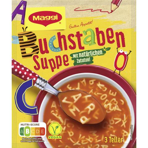 Maggi Guten Appetit Buchstaben Suppe Kids ergibt 750ML