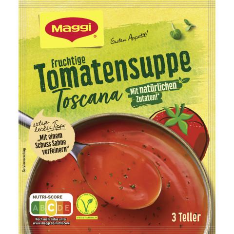 Maggi Guten Appetit Fruchtige Tomatensuppe Toscana ergibt 750ML