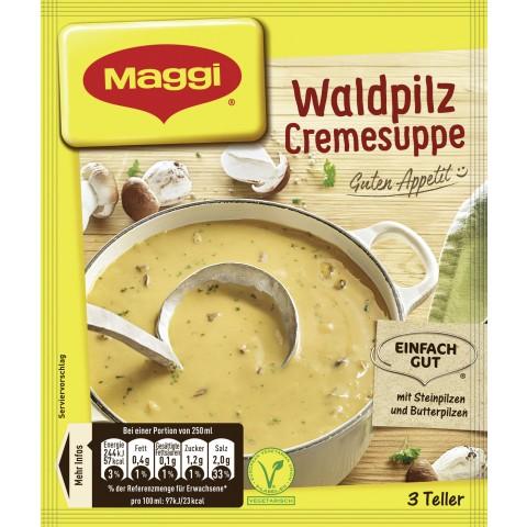 Maggi Guten Appetit! Waldpilz Cremesuppe ergibt 750 ml