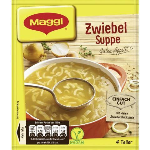 Maggi Guten Appetit! Zwiebel Suppe ergibt 1 ltr