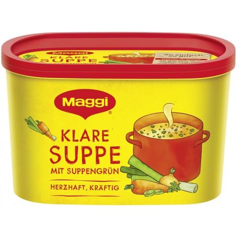 Maggi Klare Suppe mit Suppengrün ergibt 16 ltr