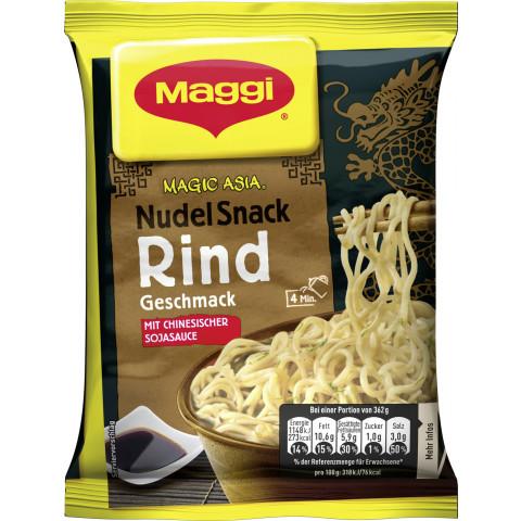 Maggi Magic Asia Nudel Snack Instant Rind 62 g