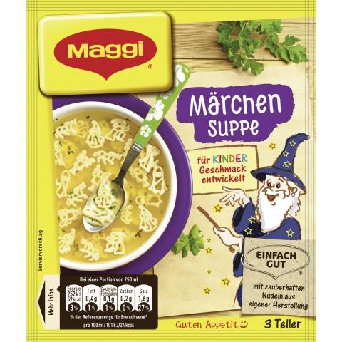 Maggi Märchen Suppe ergibt 750 ml