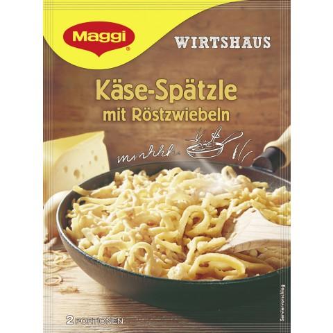 Maggi Wirtshaus Käse-Spätzle mit Röstzwiebeln