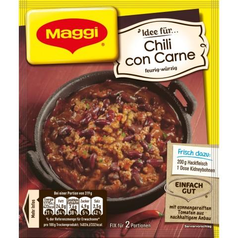 Maggi Idee für Chili con Carne