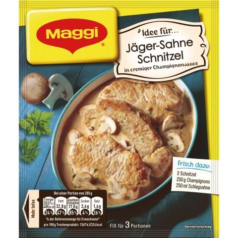Maggi Fix & Frisch Fix für Jäger-Sahne Schnitzel 27 g