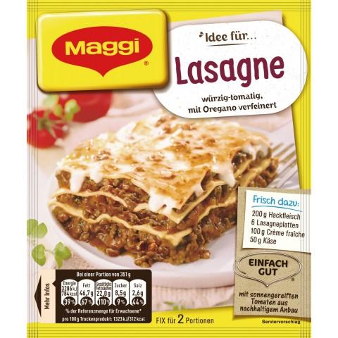 Maggi Idee für Lasagne