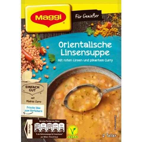 Maggi Für Genießer Orientalische Linsensuppe ergibt 500 ml