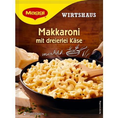 Maggi Wirtshaus Makkaroni mit dreierlei Käse 170 g