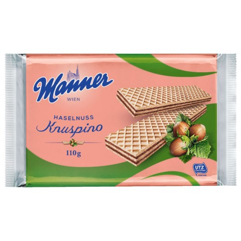 Manner Knuspino Haselnuss