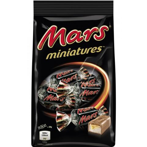 Mars Miniatures Schokoriegel 150 g