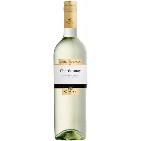 Mastri Vernacoli Chardonnay Trentino DOC 2020 0,75L