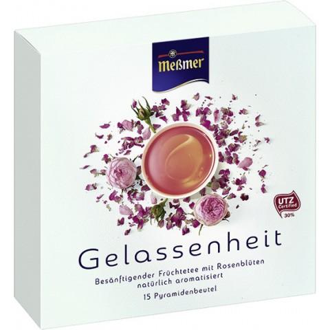 Meßmer Tee Gelassenheit im Pyramidenbeutel 15x 2,5 g
