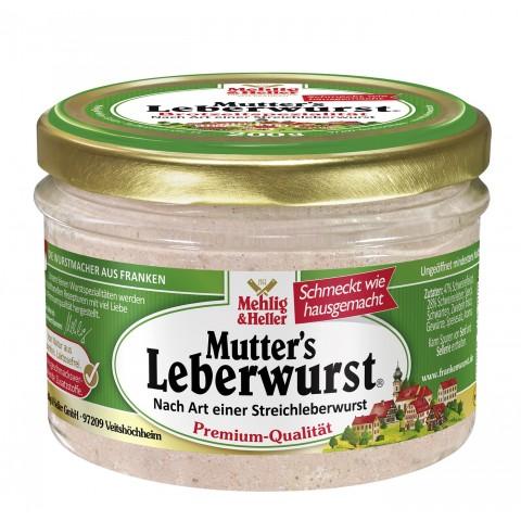 Mehlig + Heller Mutter's Leberwurst 200 g