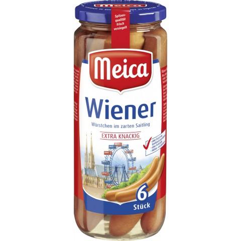 Meica 6 Wiener Würstchen 540 g