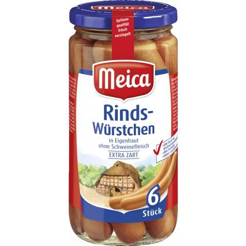 Meica 6 Rindwürstchen
