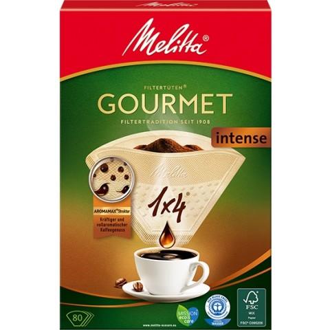 Melitta Kaffeefilter Gourmet Intense 1x4 80 Stück