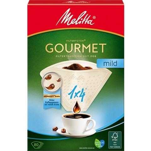 Melitta Kaffeefilter Gourmet mild 1x4