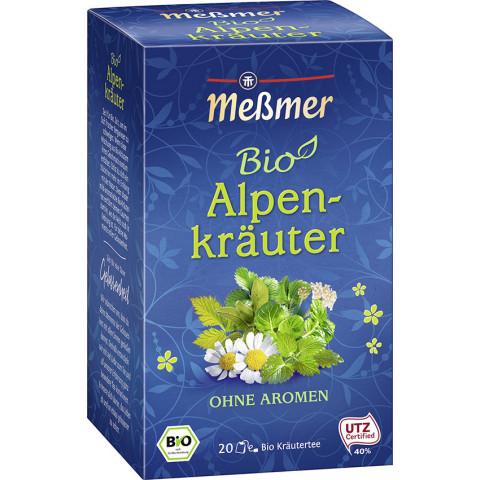 Meßmer Bio Tee Alpenkräuter 20x 2 g