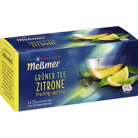 Meßmer Grüner Tee Zitrone 25x 1,75 g