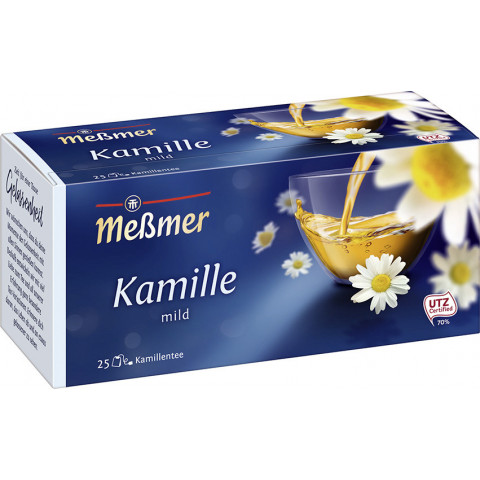 Meßmer Tee Kamille 25ST 37,5G