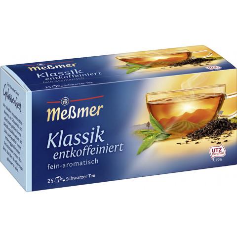 Meßmer Tee Klassik entkoffeiniert 25x 1,75 g