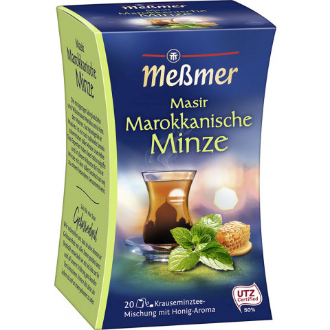 Meßmer Tee Masir Marokkanische Minze 20x 2 g