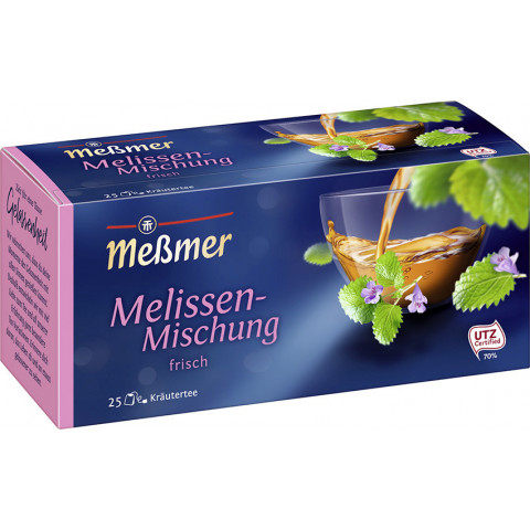 Meßmer Tee Melissen-Mischung 25ST 50G