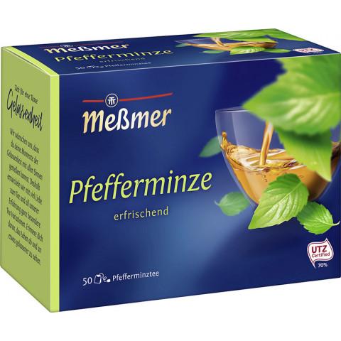 Meßmer Tee Pfefferminze groß 50ST 112,5G