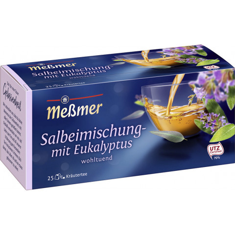 Meßmer Tee Salbei-Mischung mit Eukaliptus 25ST 43,75G