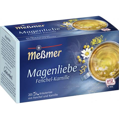 Meßmer Wohlfühltee Magenliebe Fenchel-Kamille 20x 2 g