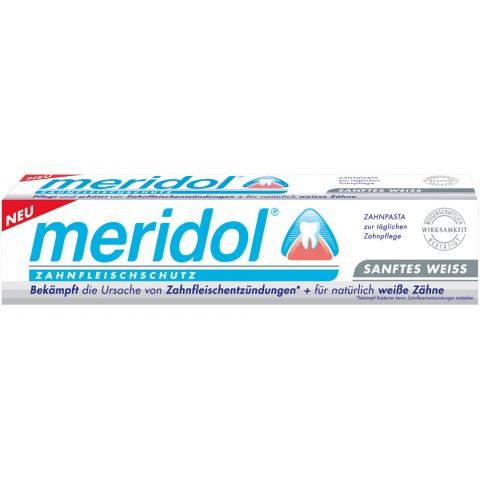 Meridol Zahncreme Sanftes Weiss 75 ml