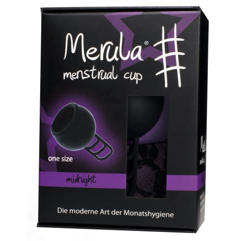 Merula Menstrual Cup One Size midnight schwarz 1ST